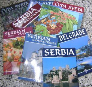 Slika svih knjiga koje je do sada objavila Biljana Luković